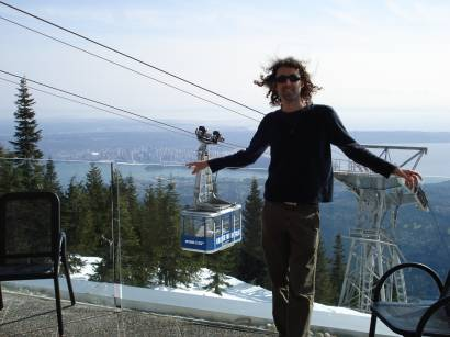 Yaro on Grouse Mountain