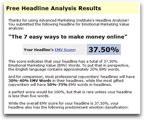 Authority Pro Theme Review Headline Analyzer