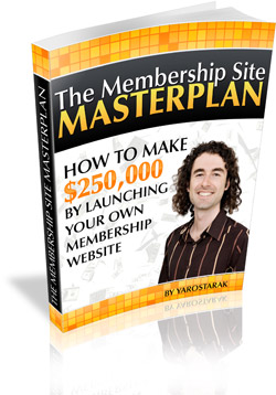 Membership Site Masterplan