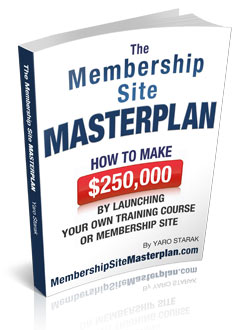 Membership Site Masterplan
