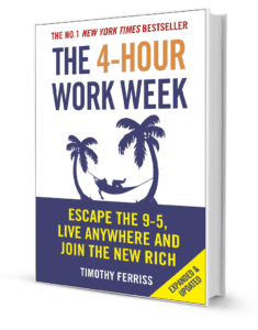 4 hour work week book cover