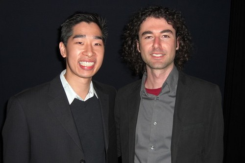 Tyrone Shum with Yaro Starak