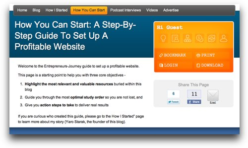 How To Set Up A Profitable Website