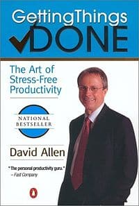 David Allen's Getting Things Done Productivity Book