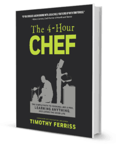 4 Hour Chef Book Cover
