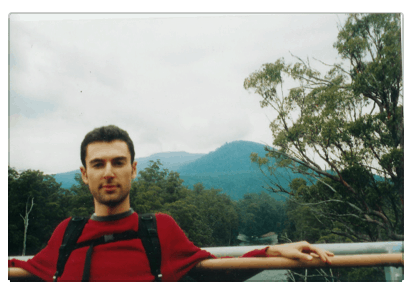 This is me when I was about 23 years old in Tasmania, approximately ten years ago.