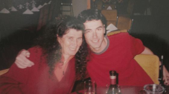 Mum and I at my 22nd Birthday