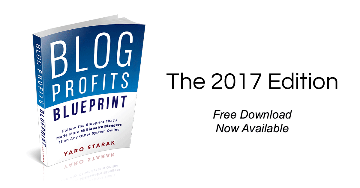 The Blog Profits Blueprint 2017 Edition