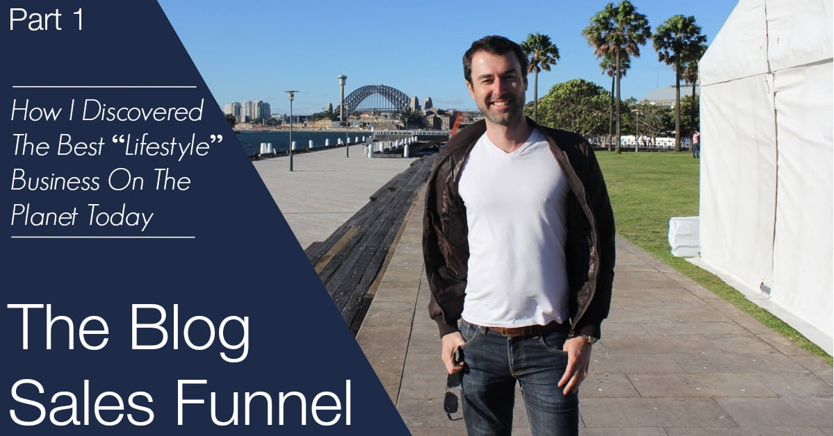The Blog Sales Funnel By Yaro Starak - Part 1