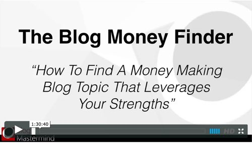 The Blog Money Finder BONUS Program