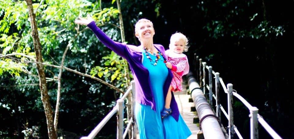 Leonie Dawson and Daughter