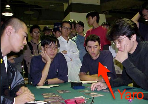 Reporting on a match at a Magic: The Gathering tournament in Sapporo Japan as a 19 year old.