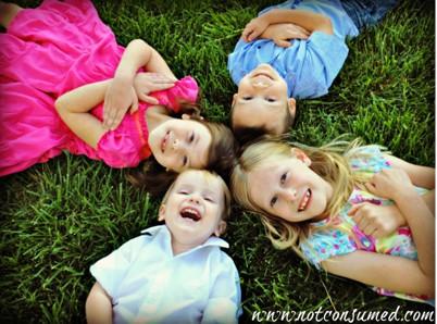 Kims four children