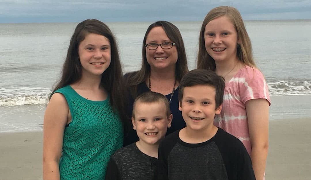 Kim Sorgius: Single Mother Of Four Makes A Full Time Income Selling Digital Workbooks From Her Blog On Parenting And Home Schooling