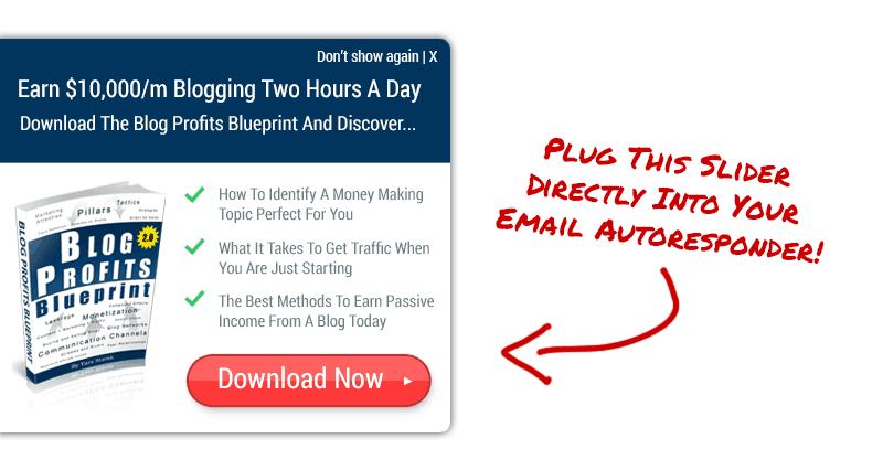 Email Slider