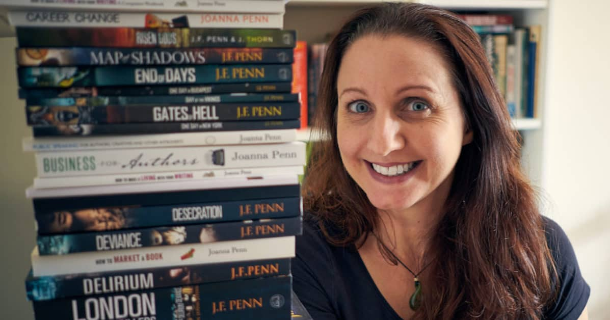 Joanna Penn: Creative Writer Breaks Free From A Job She Hated, Starts A Blog, And Today Makes $100,000+ As A Best Selling Crime Thriller Author And Mentor To Writers