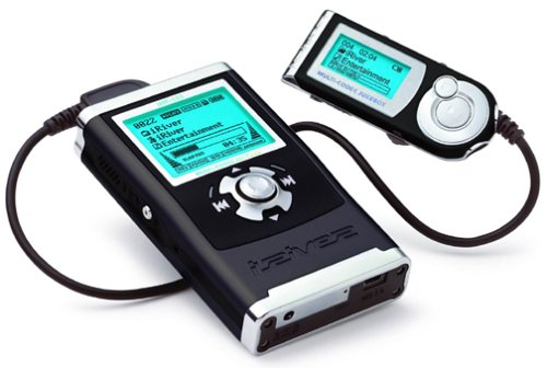 The iRiver H40 MP3 Player