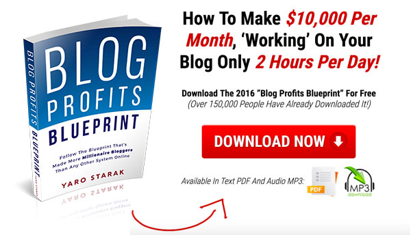 We split tested three different versions of the Blog Profits Blueprint and this one converted the best.