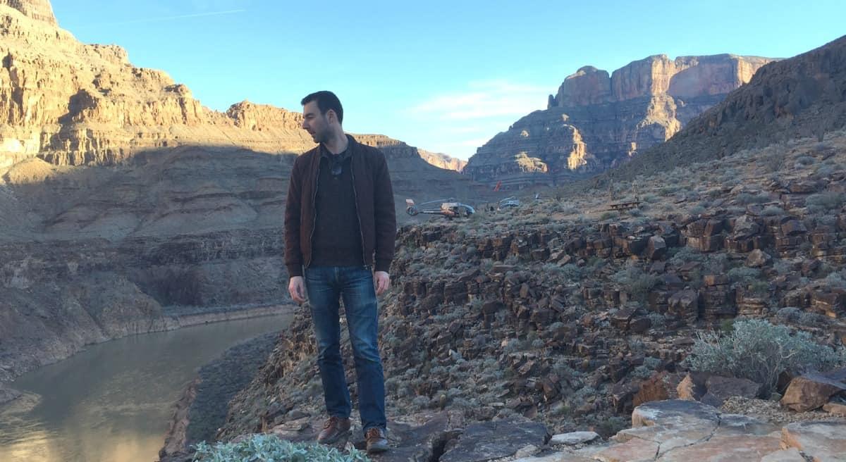 Yaro In The Grand Canyon