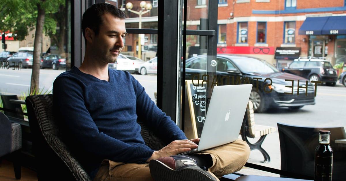Yaro Writing In Montreal