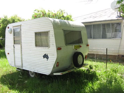 Yaro's 'Bedroom' Caravan
