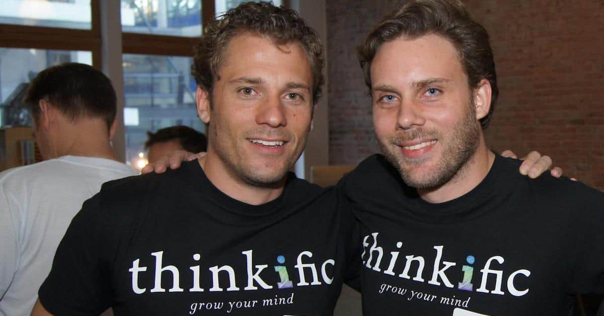 Greg Smith and Matt Smith – Co-founders of Thinkific