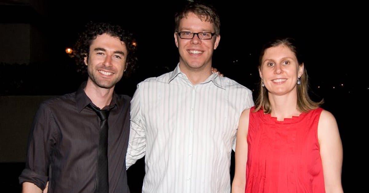 Will Swayne and wife Sarah with Yaro Starak